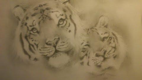 Tigers II by gangreengirl