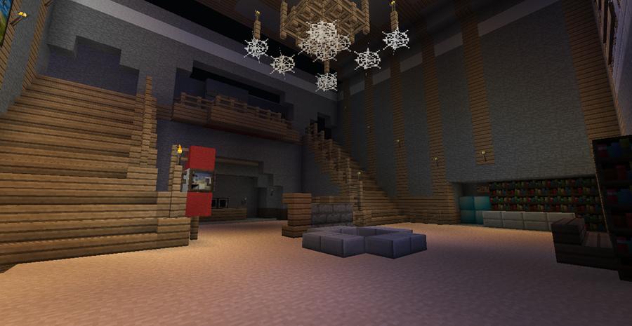 Minecraft kino der toten lobby by r77xu on deviantart - Minecraft inneneinrichtung ...