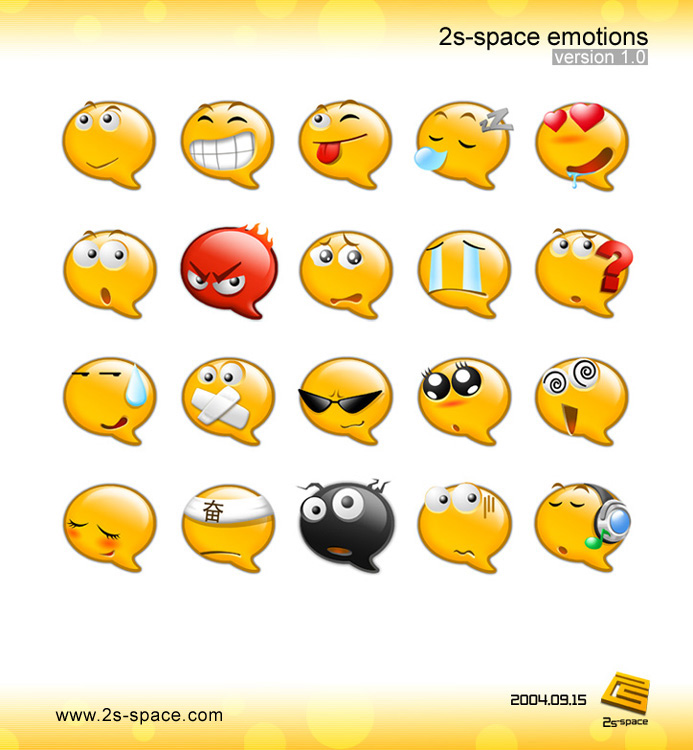 2s-space Emoticons