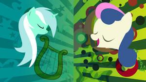 Bon Bon and Lyra by DropDeadWolf