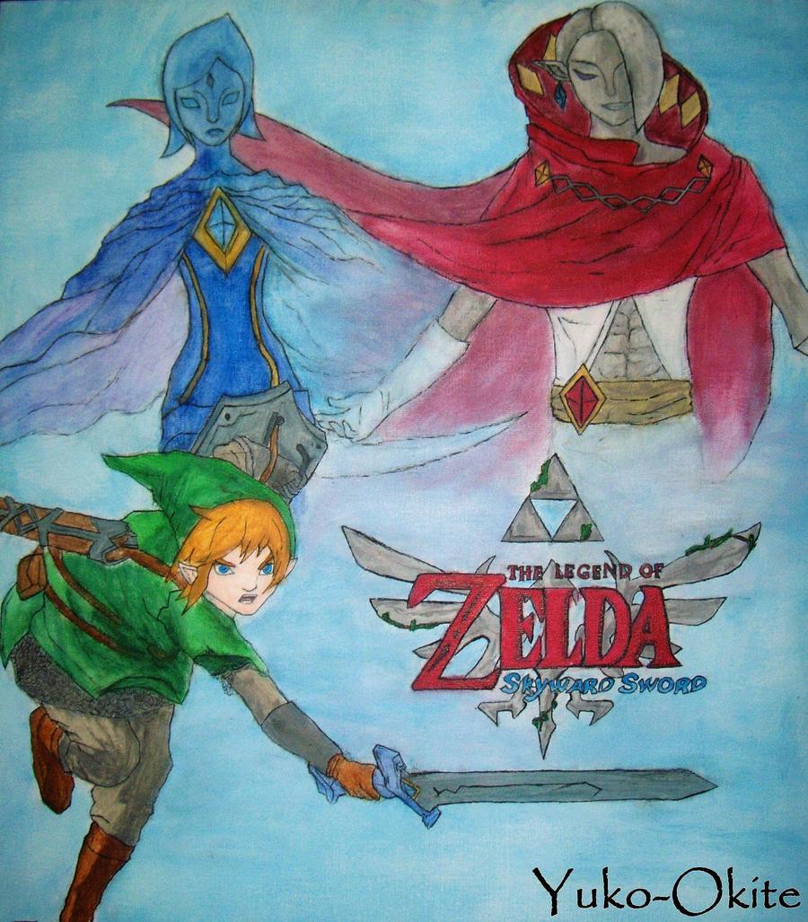 The Legend of Zelda Skyward Sword by Yuko-Okite