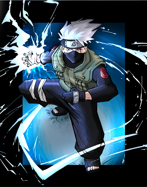 Awesome Illustrations of Kakashi Sensei