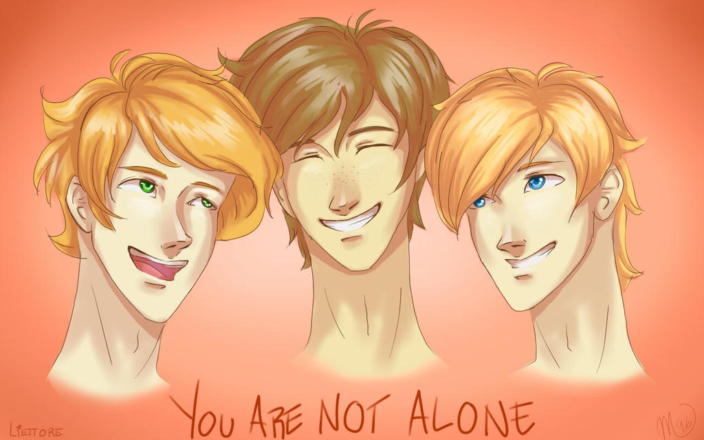 You Are Not Alone by Liettore