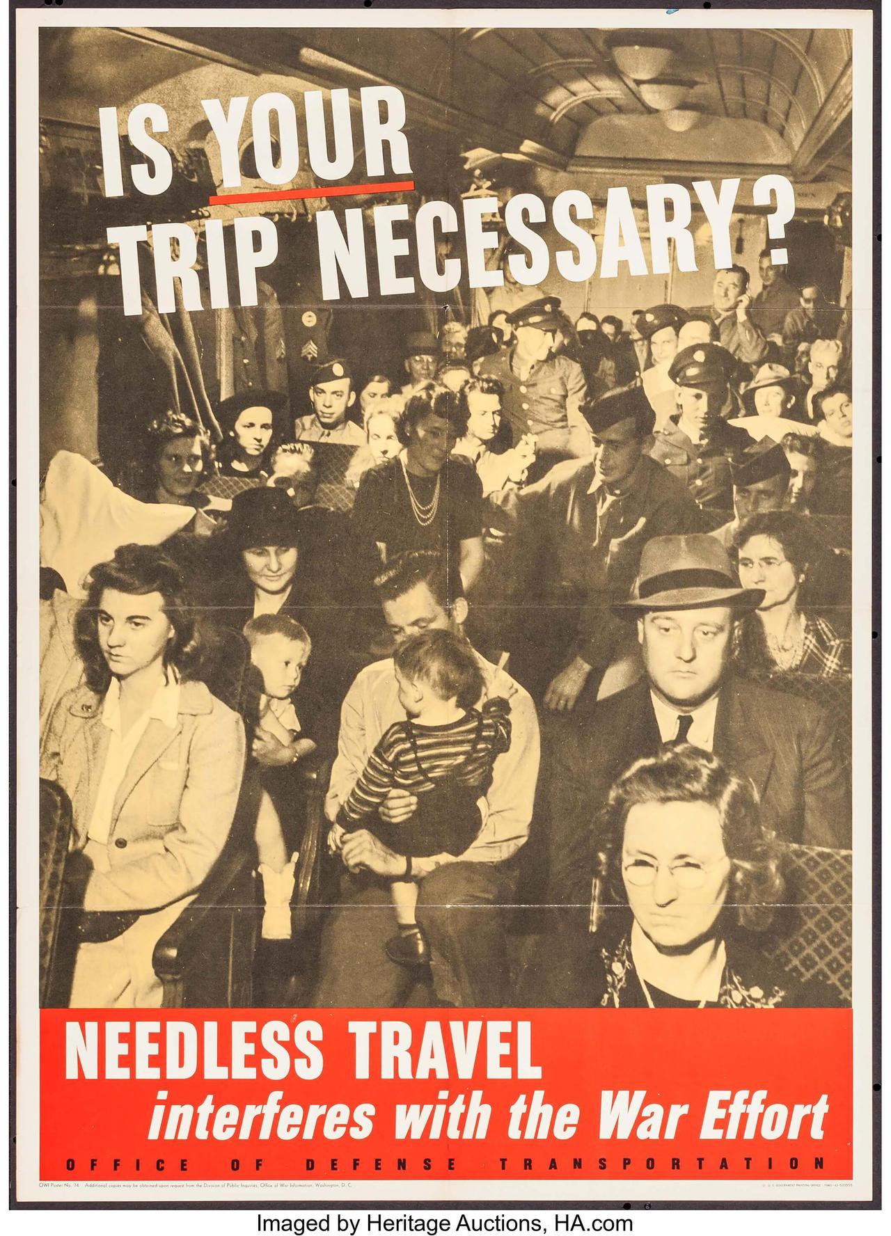 World War II is your trip necessary