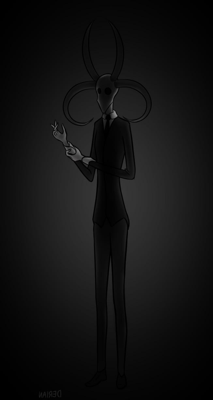 Creeptober day 29: Tall by DerianDraws