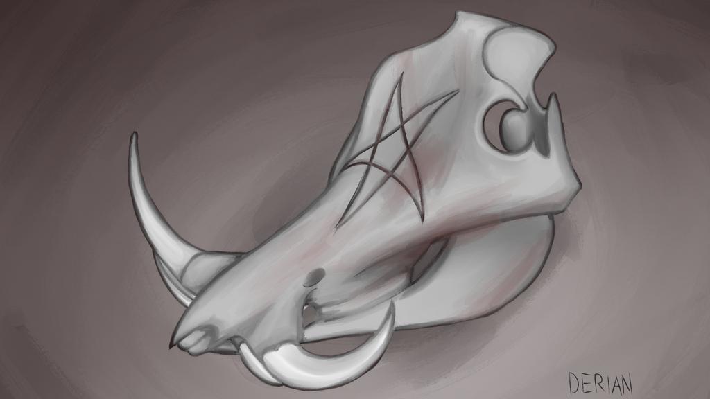 Creeptober day 30: Swine by DerianDraws