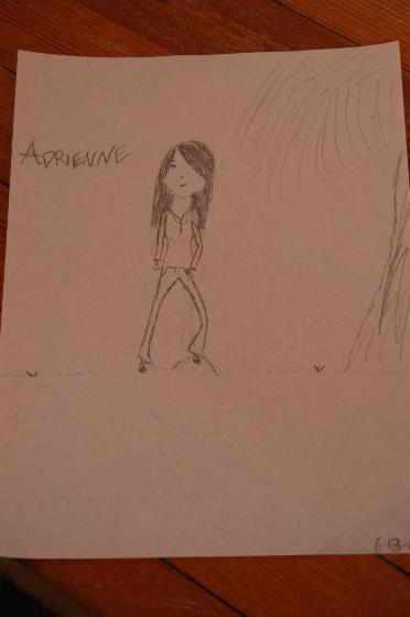 Self Portrait Adrienne by coldwintersxo
