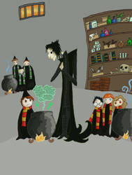 Potions Class by SmudgeThistle