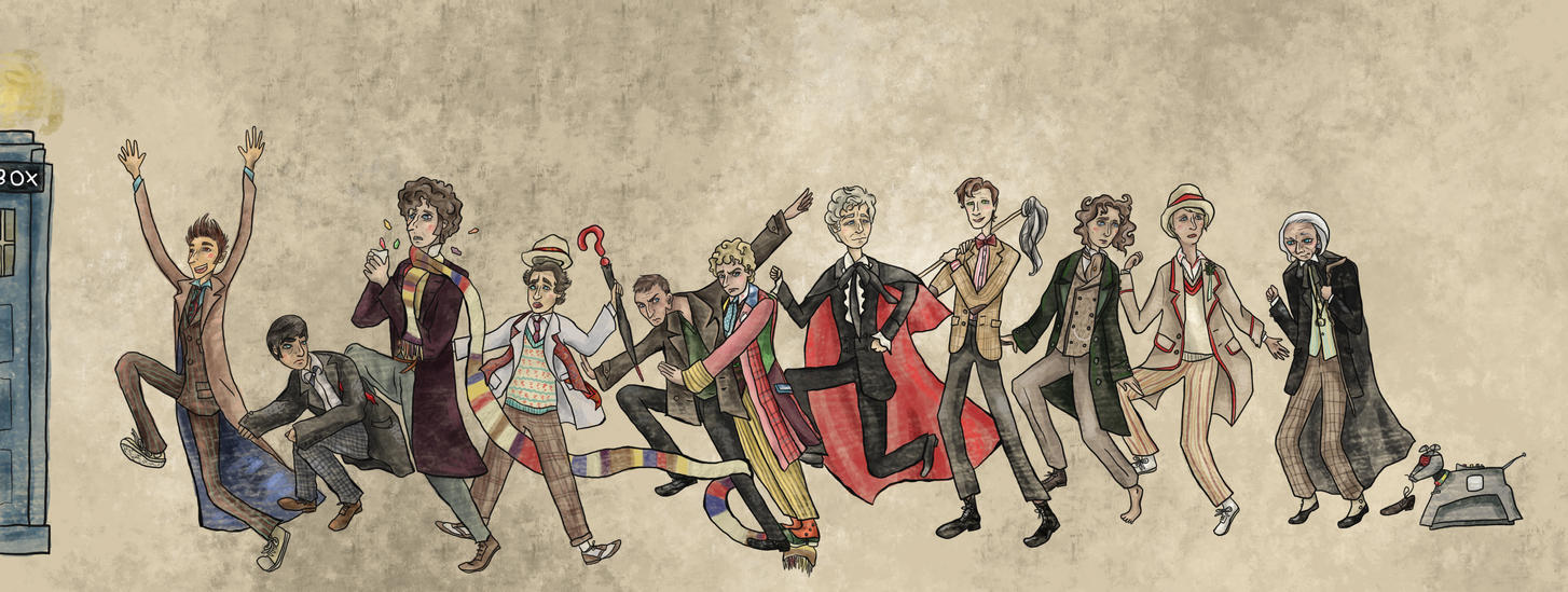 RUN!! (Doctor Who) by SmudgeThistle