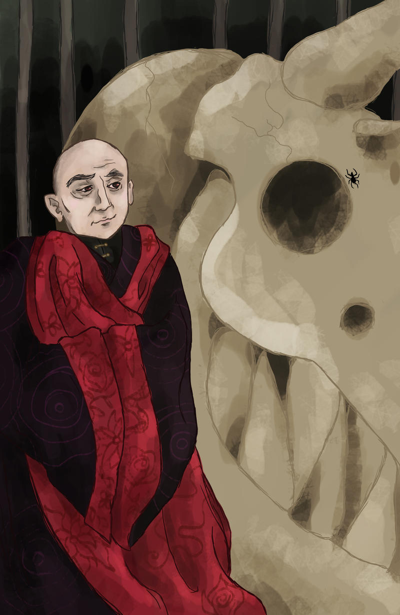 A Spider (Varys) (asoiaf) by SmudgeThistle