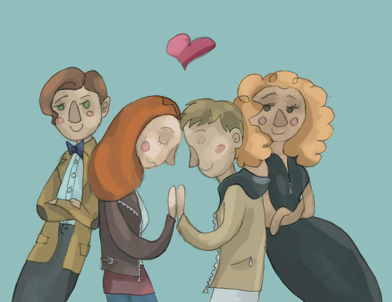 The Pond Family (Doctor Who) by SmudgeThistle