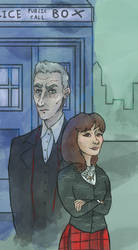 Clara and the Doctor (Doctor Who)