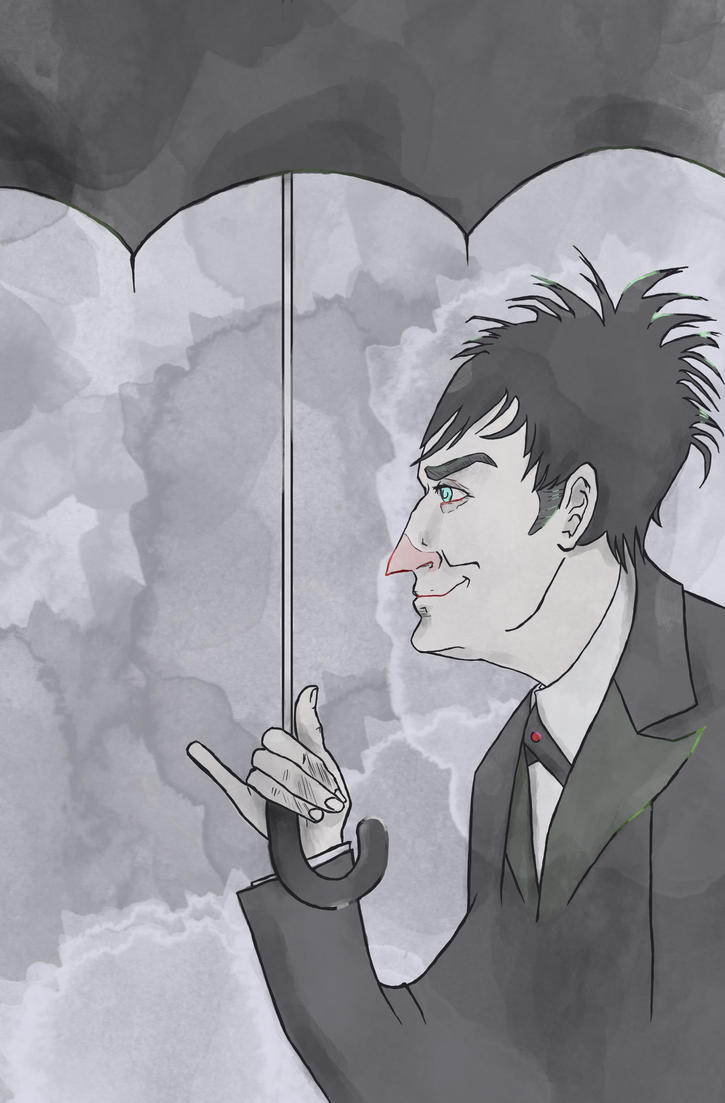 Bird of Prey (Oswald Cobblepot) (Gotham) by SmudgeThistle
