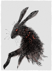 Black Rabbit of Inle by SmudgeThistle