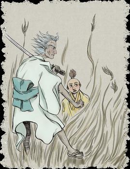 Samurai and Shogun (Rick and Morty)