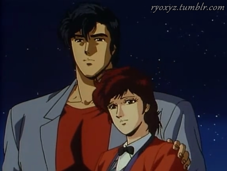 City Hunter Ryo And Kaori By Maryhatake On Deviantart
