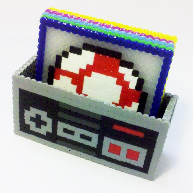 Mario Coaster Set by i-am-a-decoy