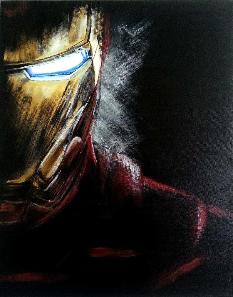 Iron Man by Manduleen