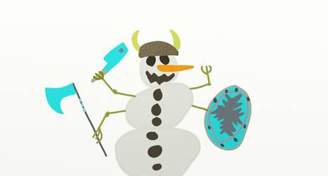 Mutant Snowman