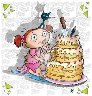rica e la torta