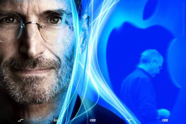 Steve Jobs by digitalspin