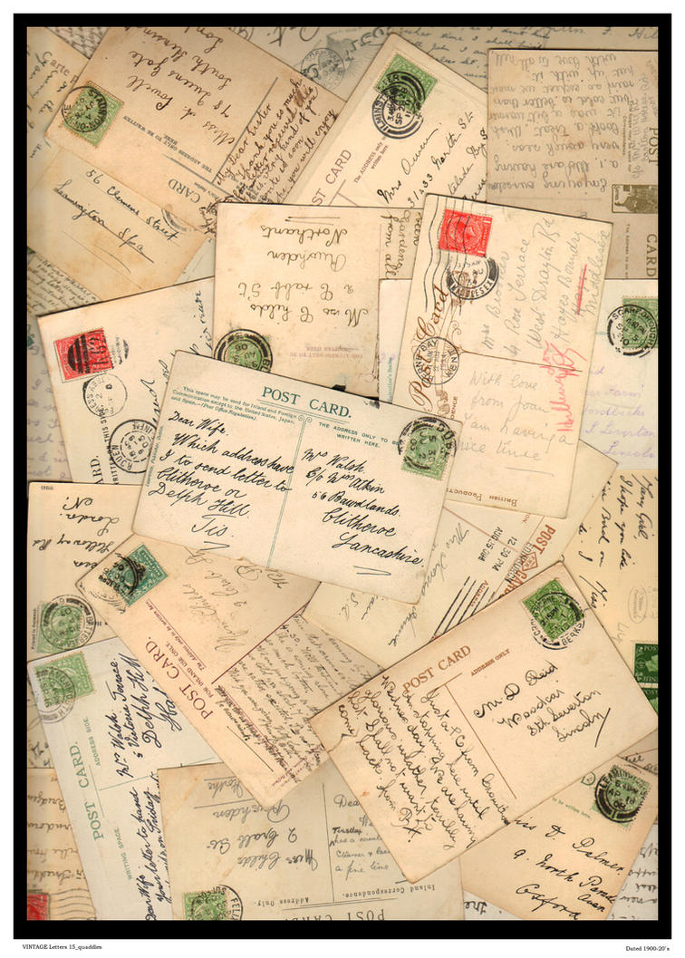 Vintage Letters 15 Quaddles By Downloading Letter Free Only