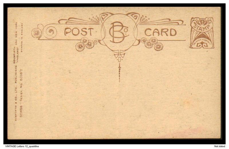 Vintage letters 12 quaddles by quaddles on deviantart for Antique letters