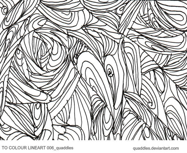 TO COLOUR LINEART 006_quaddles by quaddles