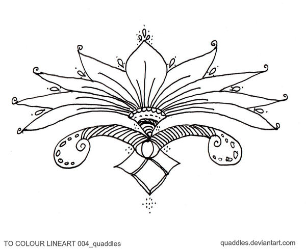 TO COLOUR LINEART 004_quaddles by quaddles