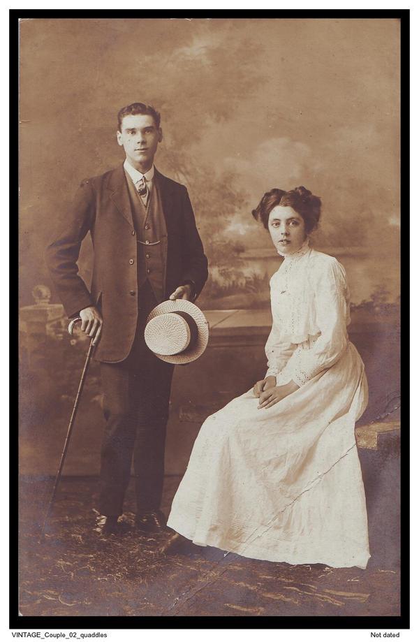 Vintage Couple 02 Quaddles By Quaddles On Deviantart