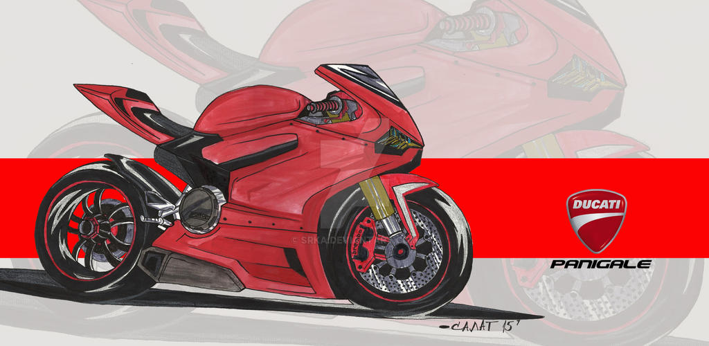 Ducati 1199 Panigale By Srka On Deviantart
