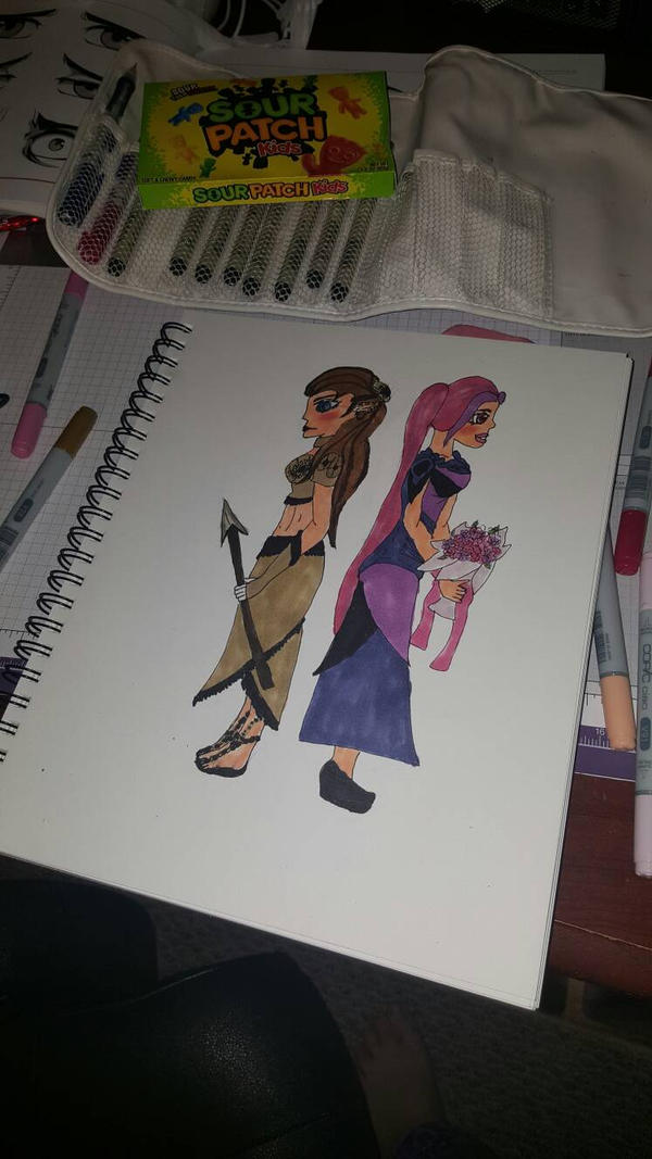 Warrior or Princess  by Madakins