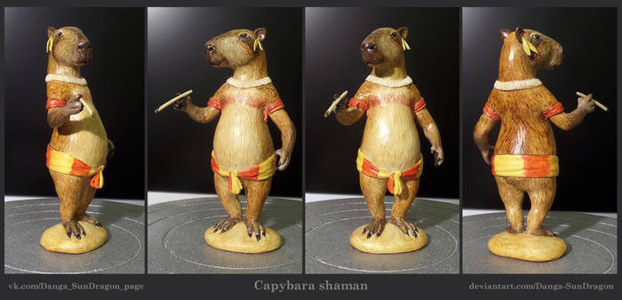 Capybara shaman