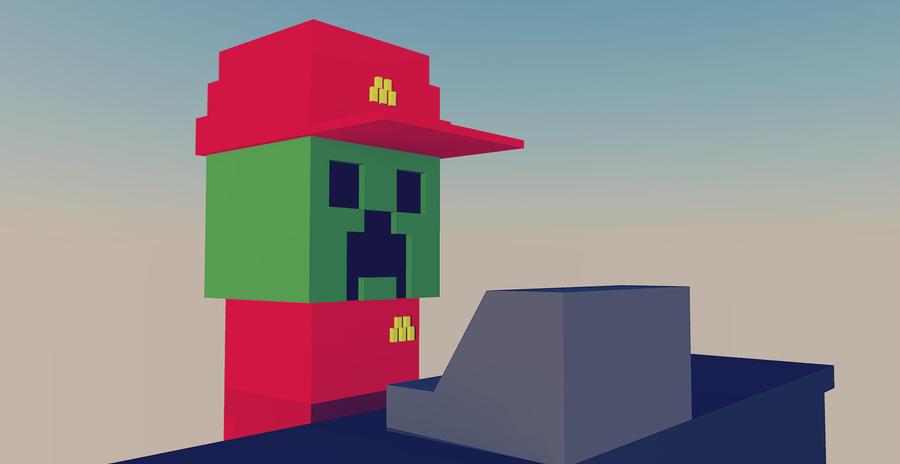 Minecraft Fast Food Skin Pbg