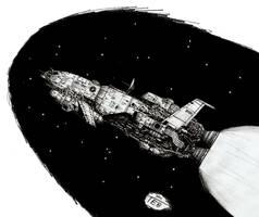 Heavy Intra-System Shuttle by Stingray-24