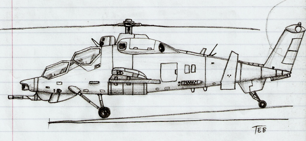 Attack Helicopter By Stingray 24 On DeviantArt