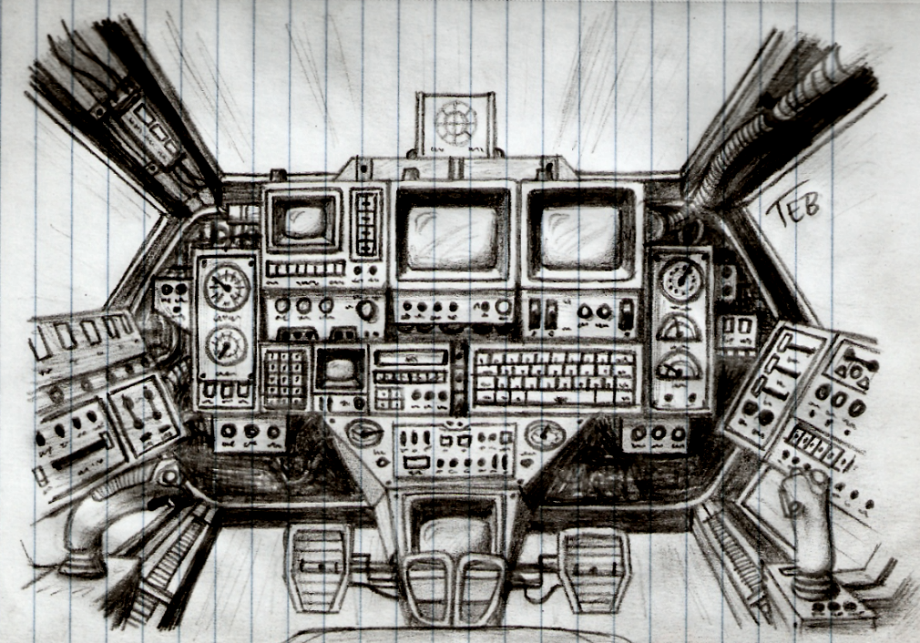 SF-86 Fighter revised cockpit concept by Stingray-24 on DeviantArt