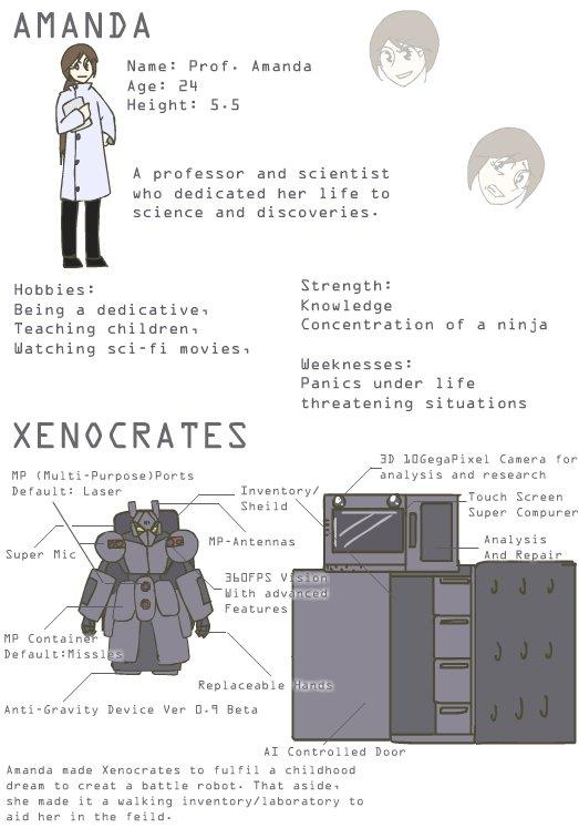 Professor Amanda and Xenocrates by guzu