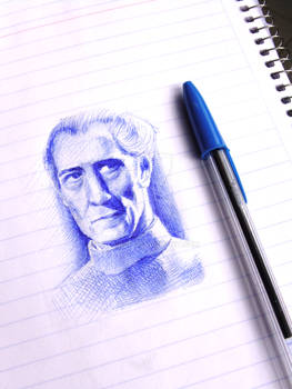 Gran Moff Tarkin (Blue ballpoint pen)