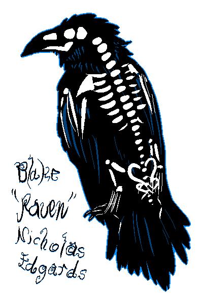 Skeleraven ID by blackRAVENsong