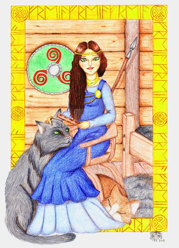 Freya by TerraRavenBearheart