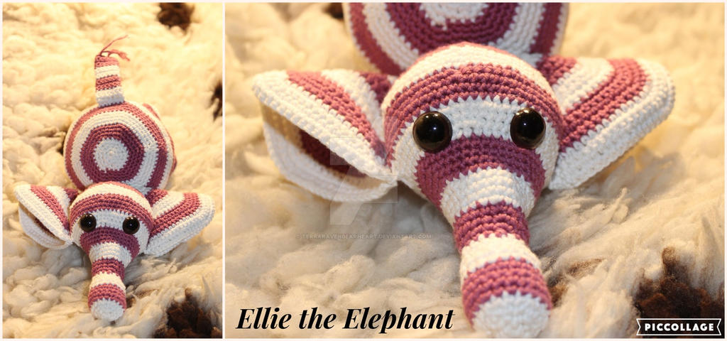 Ellie the Elephant by TerraRavenBearheart