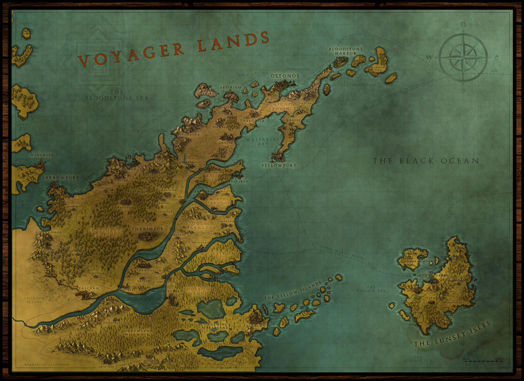 Voyager Lands - Regional Map by PicanteSemmy on DeviantArt