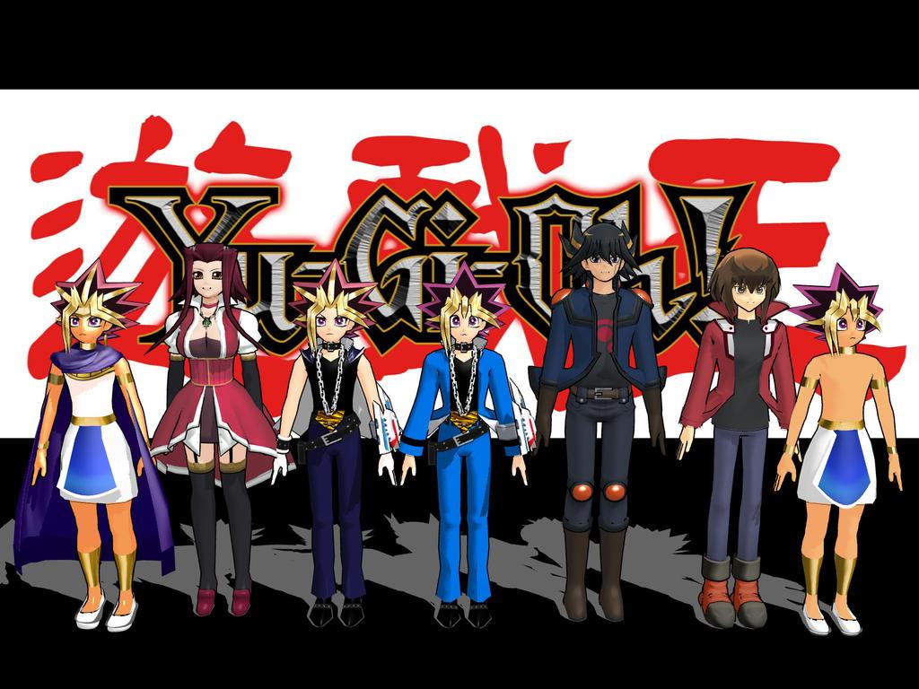 Yu-Gi-Oh by MMDLowdisan
