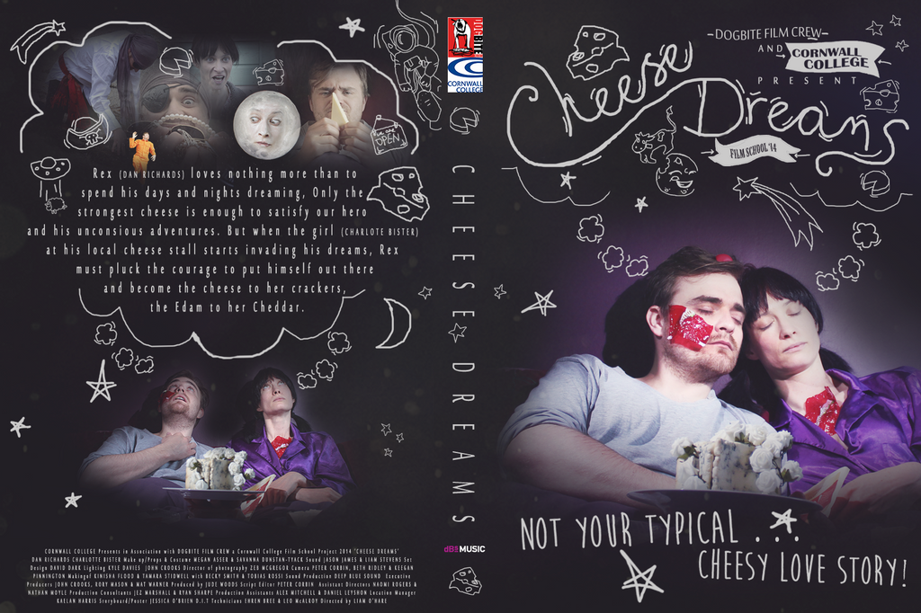 Cheese Dreams DVD Cover by Faeiii