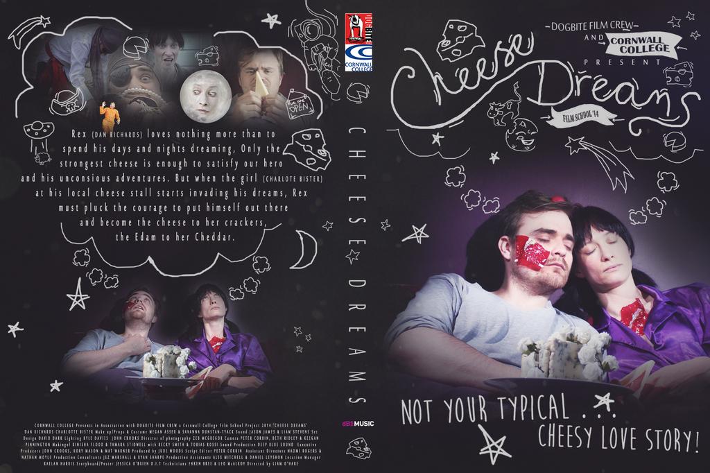 Cheese Dreams DVD Cover by Faeiii