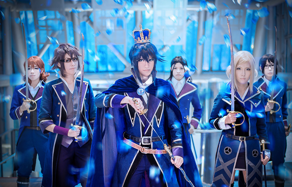 K-project  The Blue King by  K Project Gold King