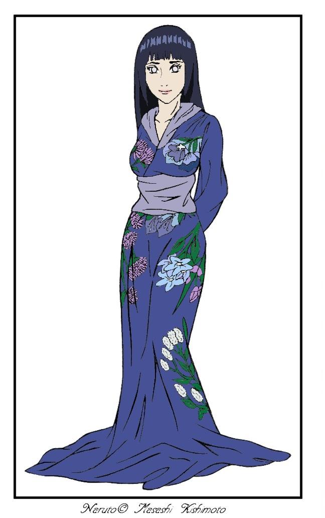 Hinata Kimono by cherryblossom4112
