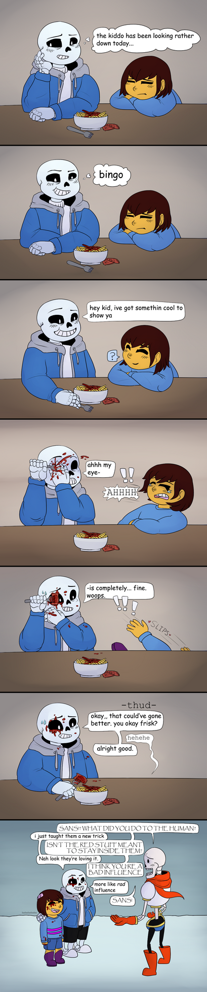 Undertale: A certain sans of humour by CaptainClovey