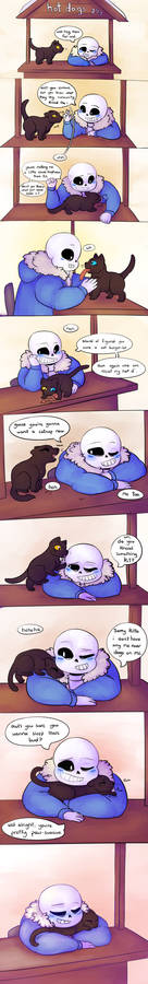 Undertale: A furry pawsible situation